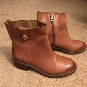Coach Georgetta Ankle Boots Size 7.5 NWOB